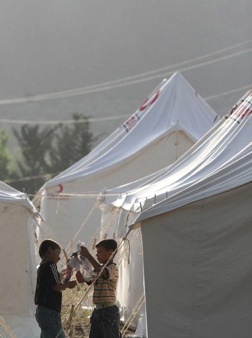 çadırkent çocuklar