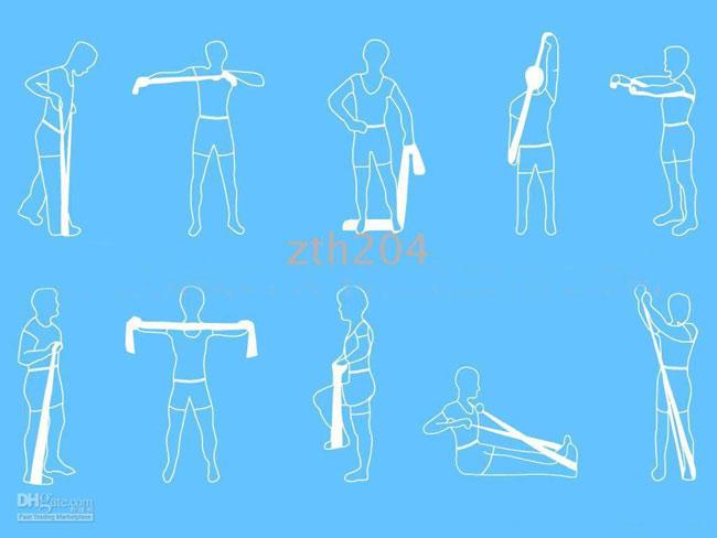 pilates bandı hareketleri