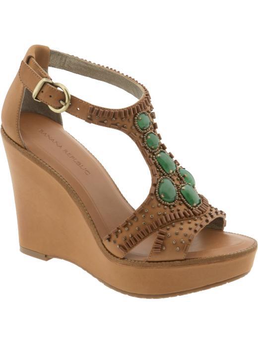 yeşil taşlı sandalet