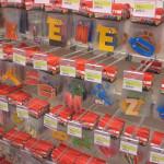 Renk renk harf magnetler ve stickerlar
