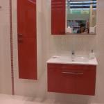 Kırmızı hazır banyo