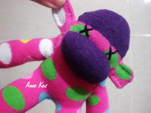 çorap maymun mini