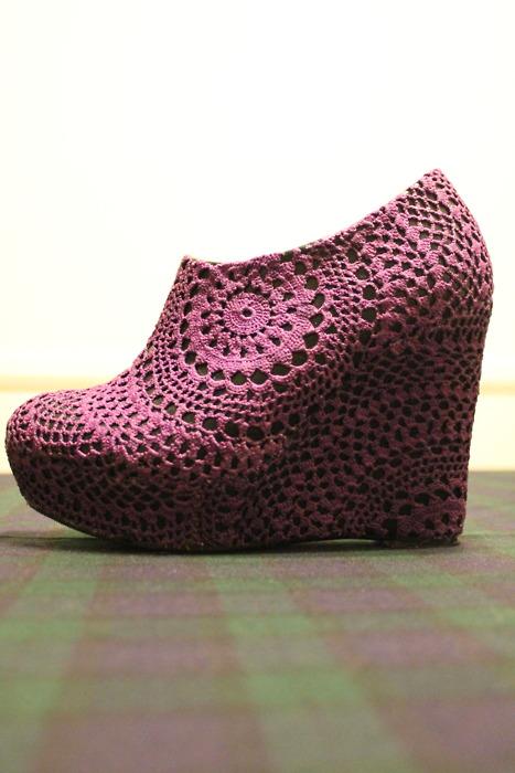 dantelli ayakkabı