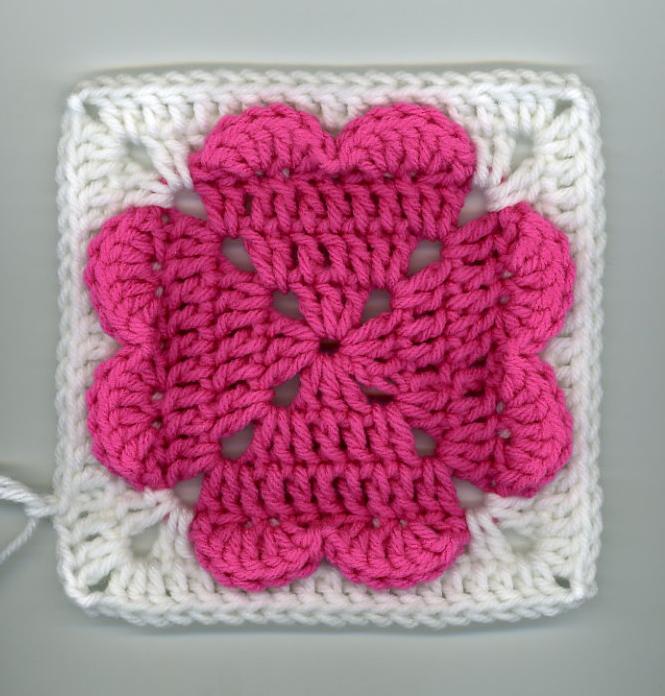 kalp battaniye motifi