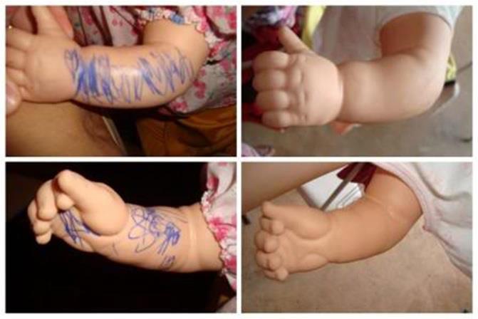 bebeklerden tükenmez kalem