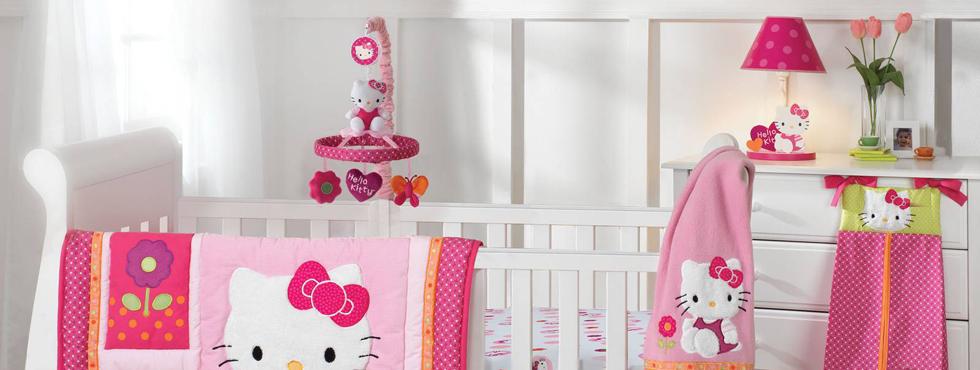 bebek-odası-hello-kitty