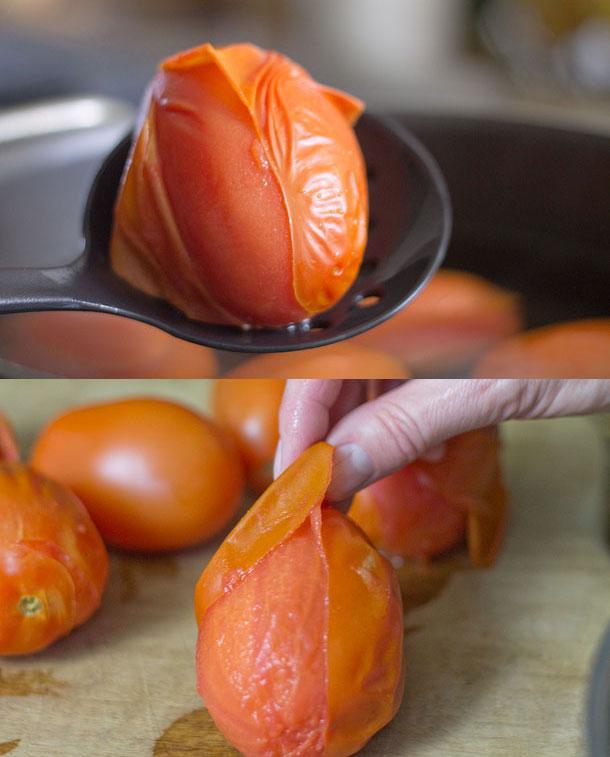 domates kabuğu nasıl soyulur