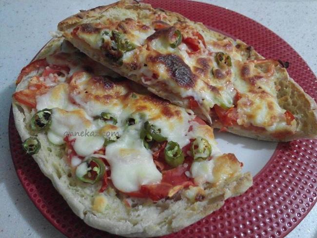 bazlama-pizza