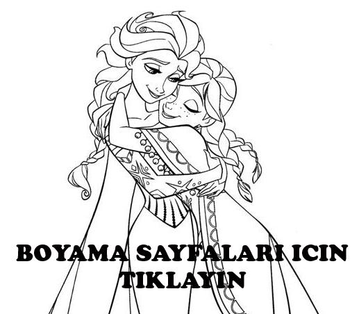 Karlar Kralicesi Boyama Sayfalari