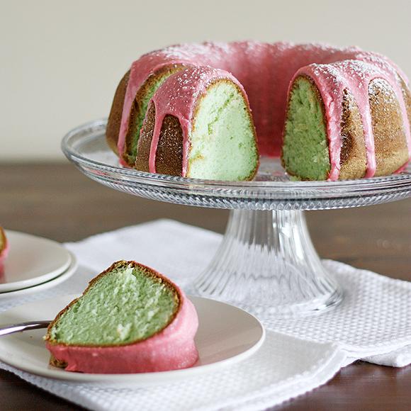 yeşil kek