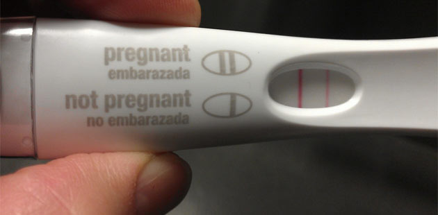 Hamilelik Testindeki Kahrolasi Silik Cizgi