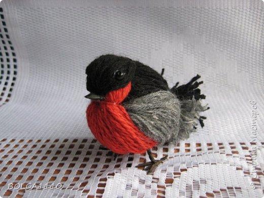 Yün iplerden kuş yapımı 12