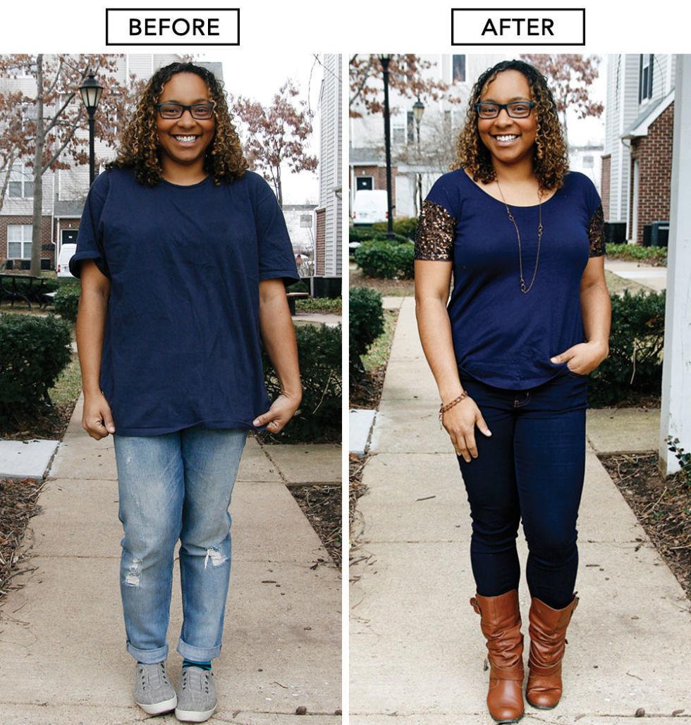 kilolu kadın nasıl zayıf görünür
