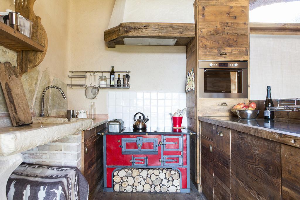 Mutfak dolaplar nda yeni fikirler - Cucine da montagna ...