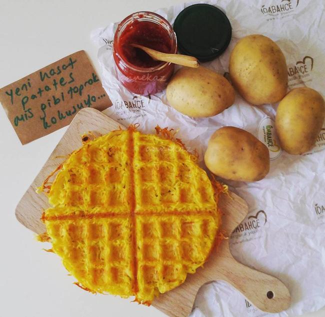 patates-waffle
