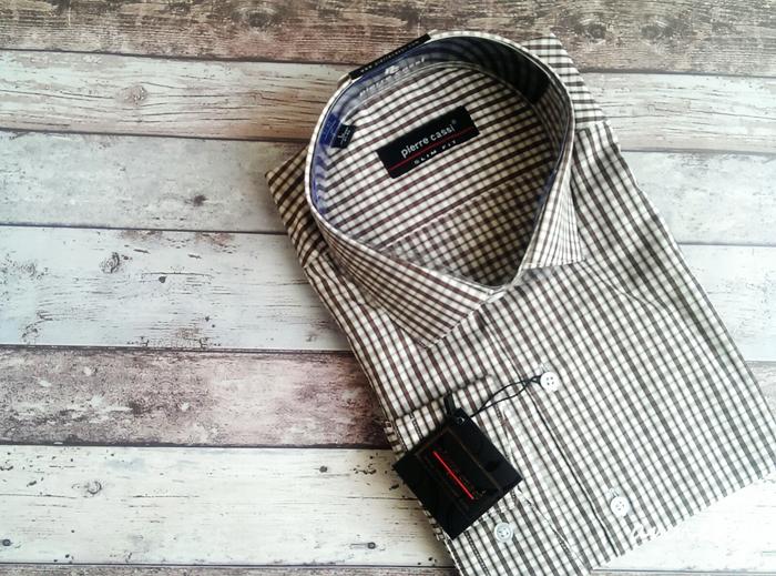 pirerre-cassi-erkek-gömleği-kareli
