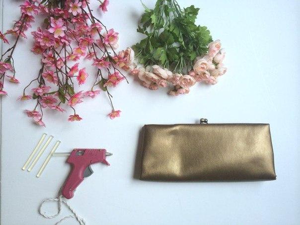 çiçekli çanta yapımı
