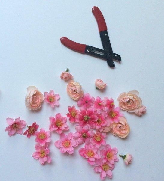 çiçekli çanta yapımı2