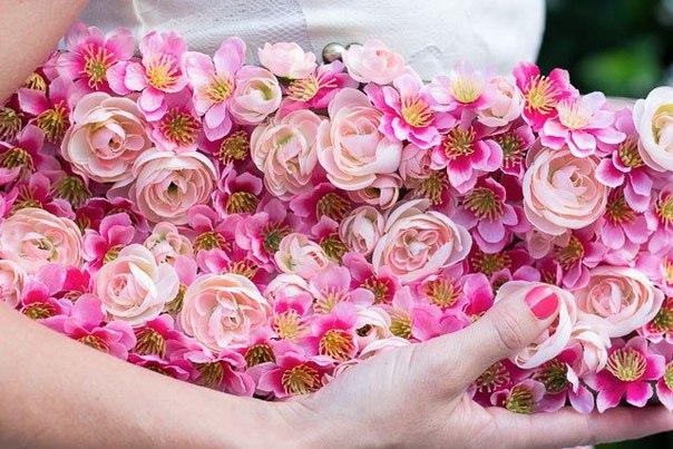 çiçekli çanta yapımı4