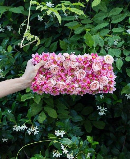 çiçekli çanta yapımı6