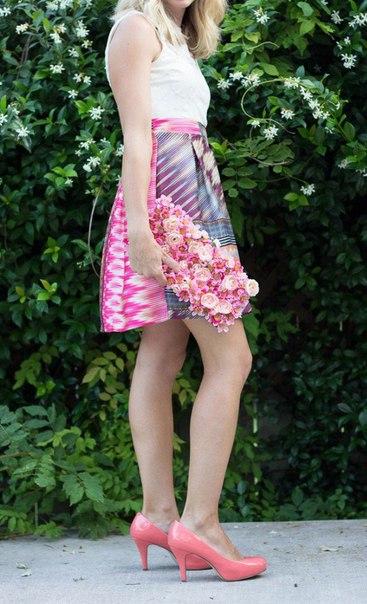 çiçekli çanta yapımı7