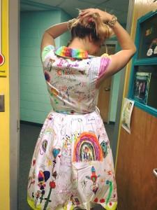 1 sınıf hatırası elbisesi