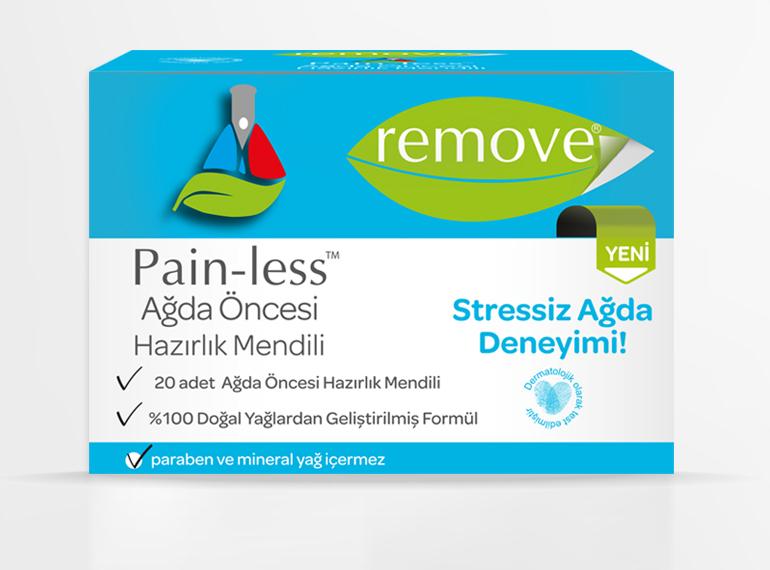 Pain-less Ağda Öncesi Hazırlık Mendili