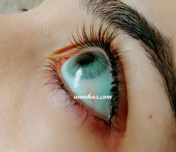 lens buz mavi
