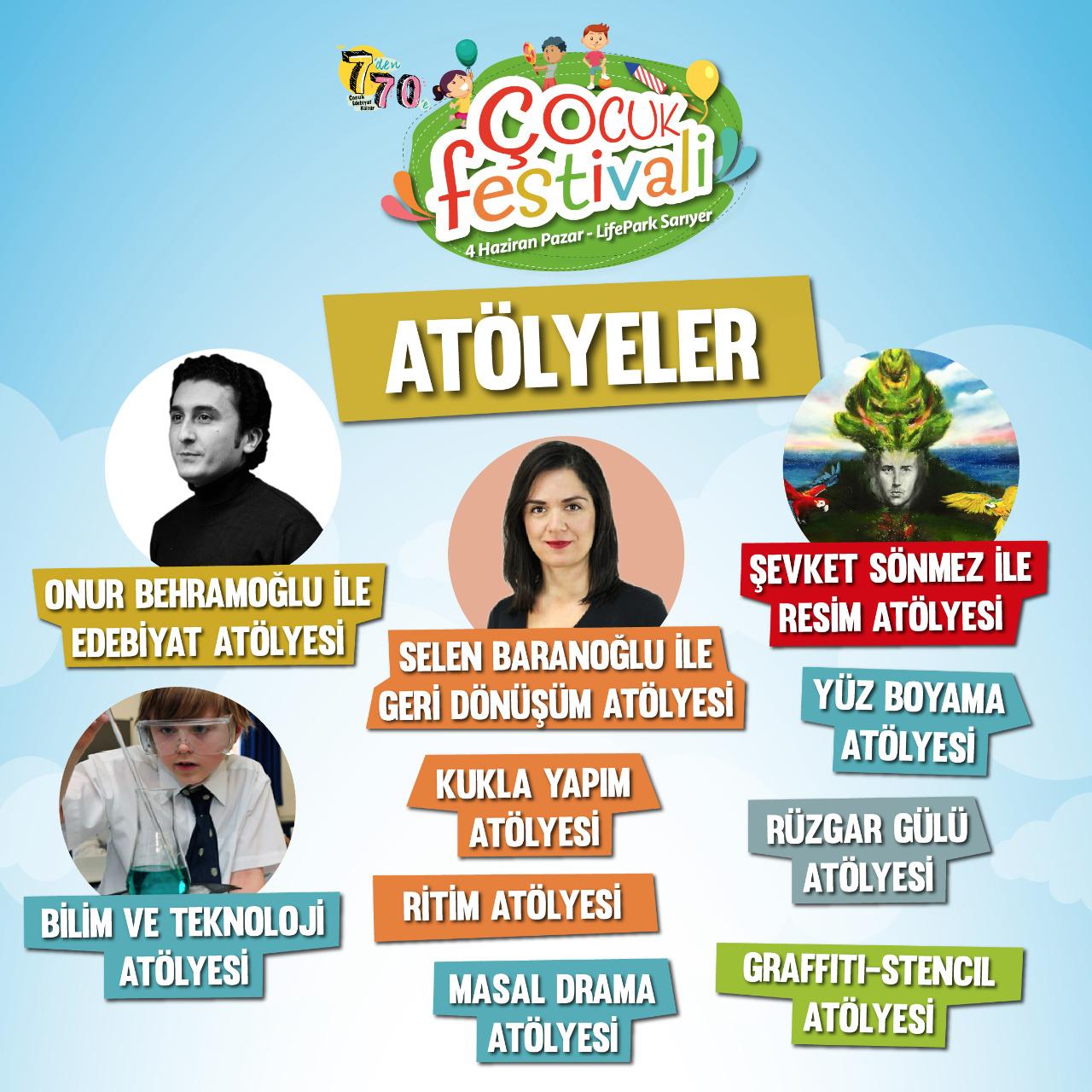 cocuk festivali atolyeler