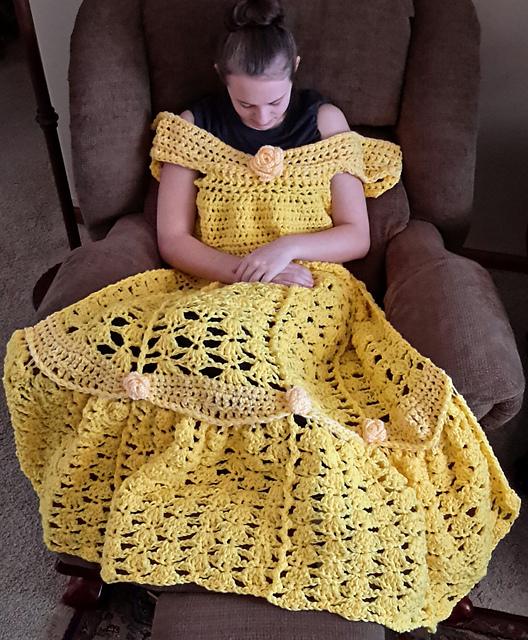 disney prenses battaniye modeli