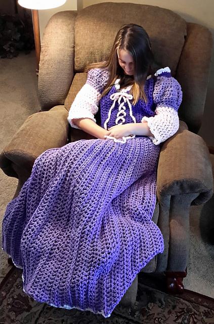 prenses elbisesi battaniye